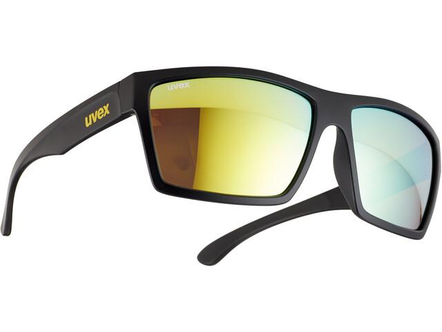 UVEX LGL 29 Glasses black mat/yellow